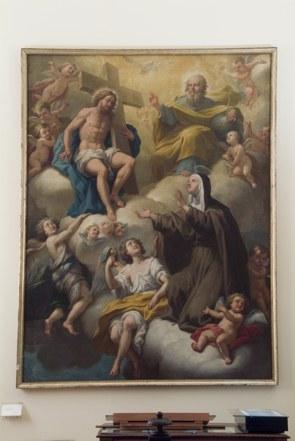 Nicolò De Filippis, Estasi di Santa Chiara