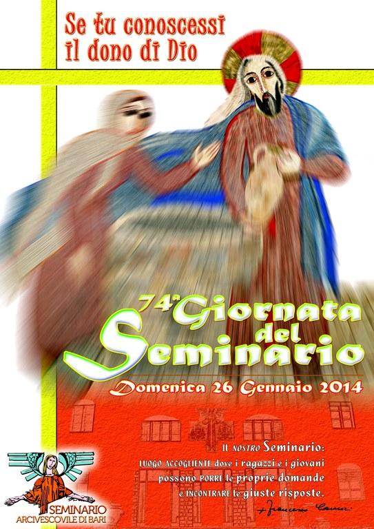 Manifesto Giornata del Seminario 2014