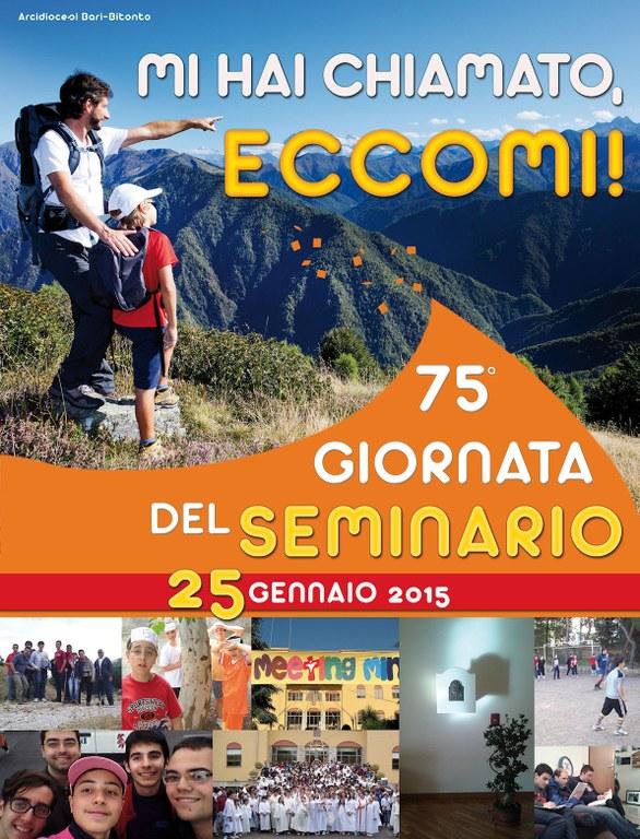 Manifesto Giornata del Seminario 2015