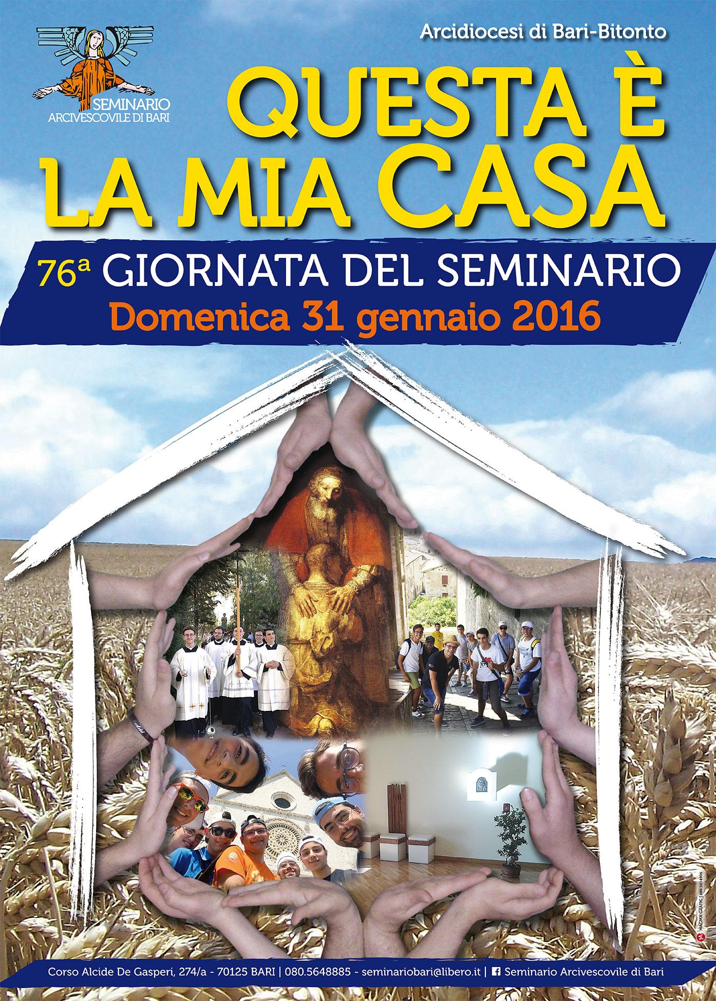 Manifesto della Giornata del Seminario 2016