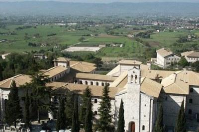 L'Istituto Serafico di Assisi visto dall'alto