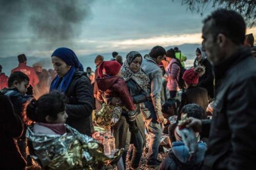 Sognando l'Europa. Per i profughi il futuro è un'ombra nera (Pablo Tosco/Oxfam)