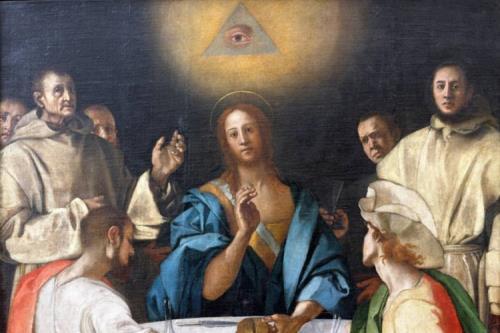Jacopo Carrucci detto il Pontormo, Cena in Emmaus